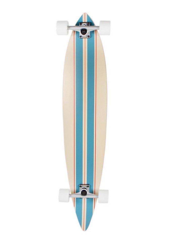 Sportplus Longboard, Longboard Concave round pintail, »Straightline SP-SB-105« in mehrfarbig