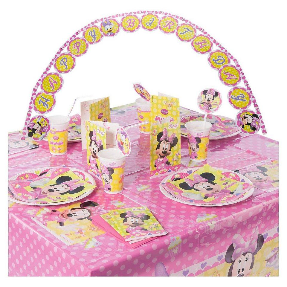 Procos Partyset Minnie Bow-Tique 56-tlg.