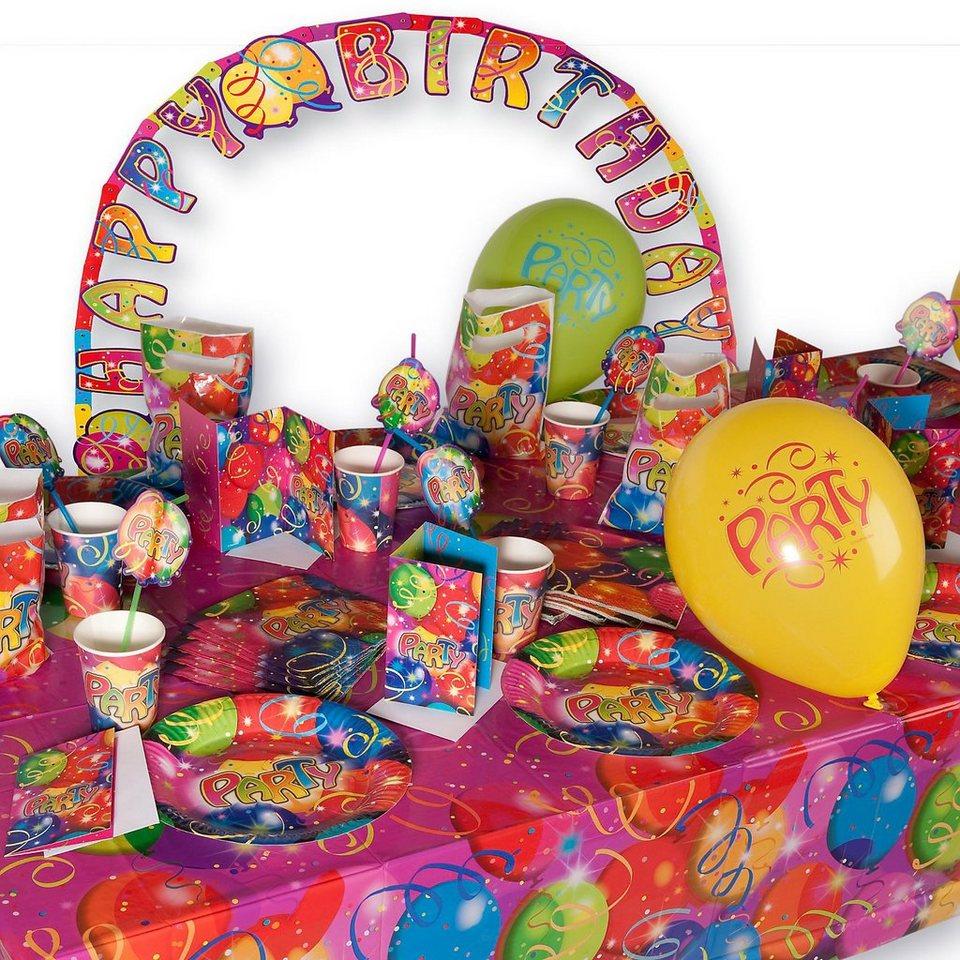 Riethmüller Partyset Ballon Party 66-tlg.