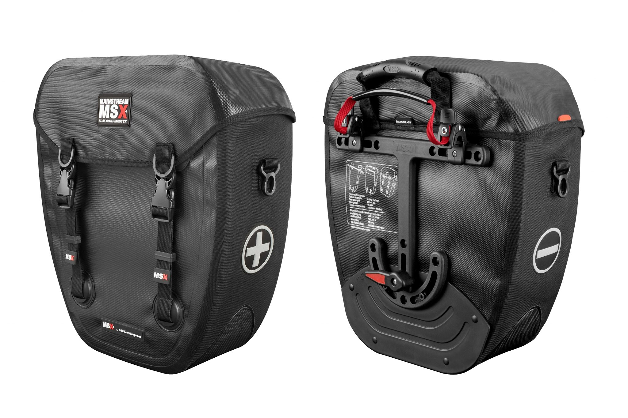 Mainstream MSX Gepäckträgertasche »SL 55 Avantgarde CX schwarz«