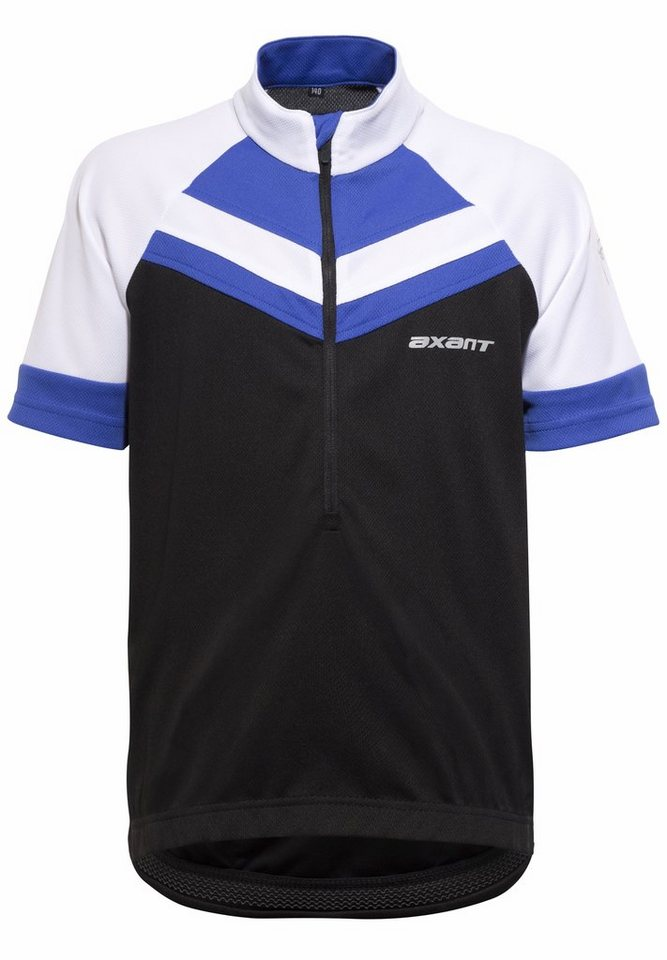 axant Trikot »Elite Bike Jersey Kids« in schwarz
