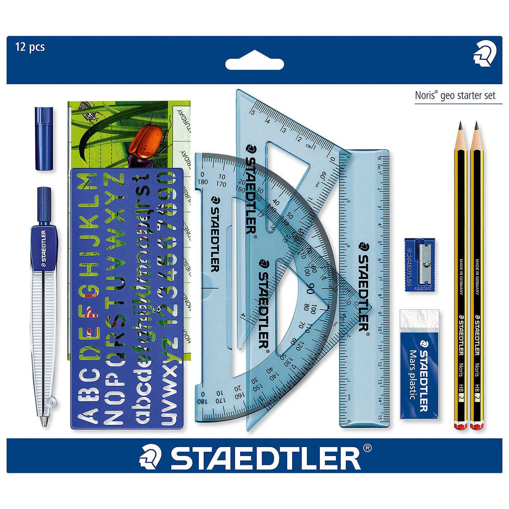 Staedtler Zeichen-Geometrie-Starterset, 10-tlg.