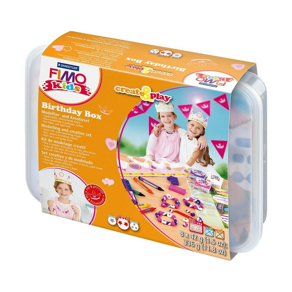 FIMO kids Create & Play Partypack Prinzessin