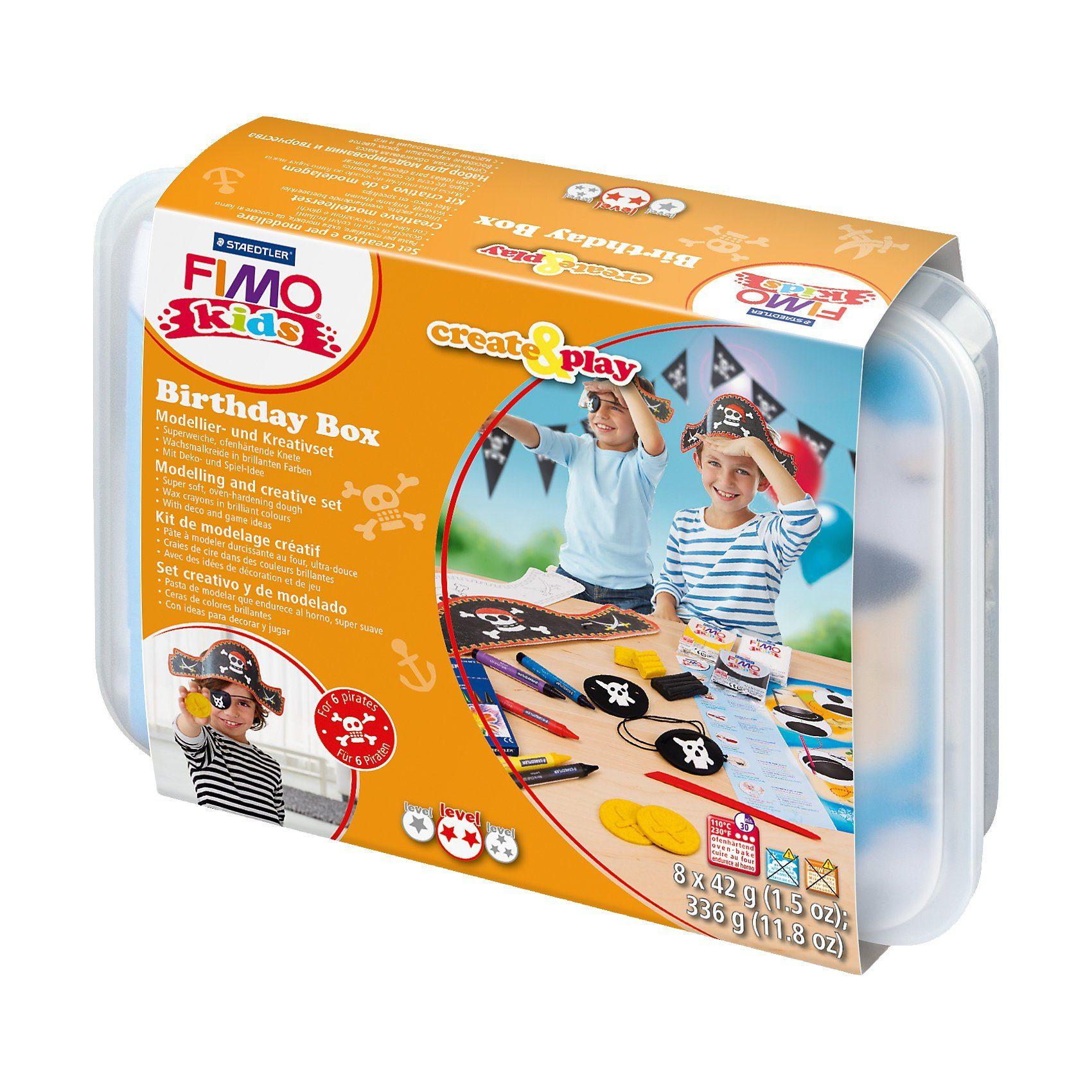 FIMO kids Create & Play Birthday Box Pirat