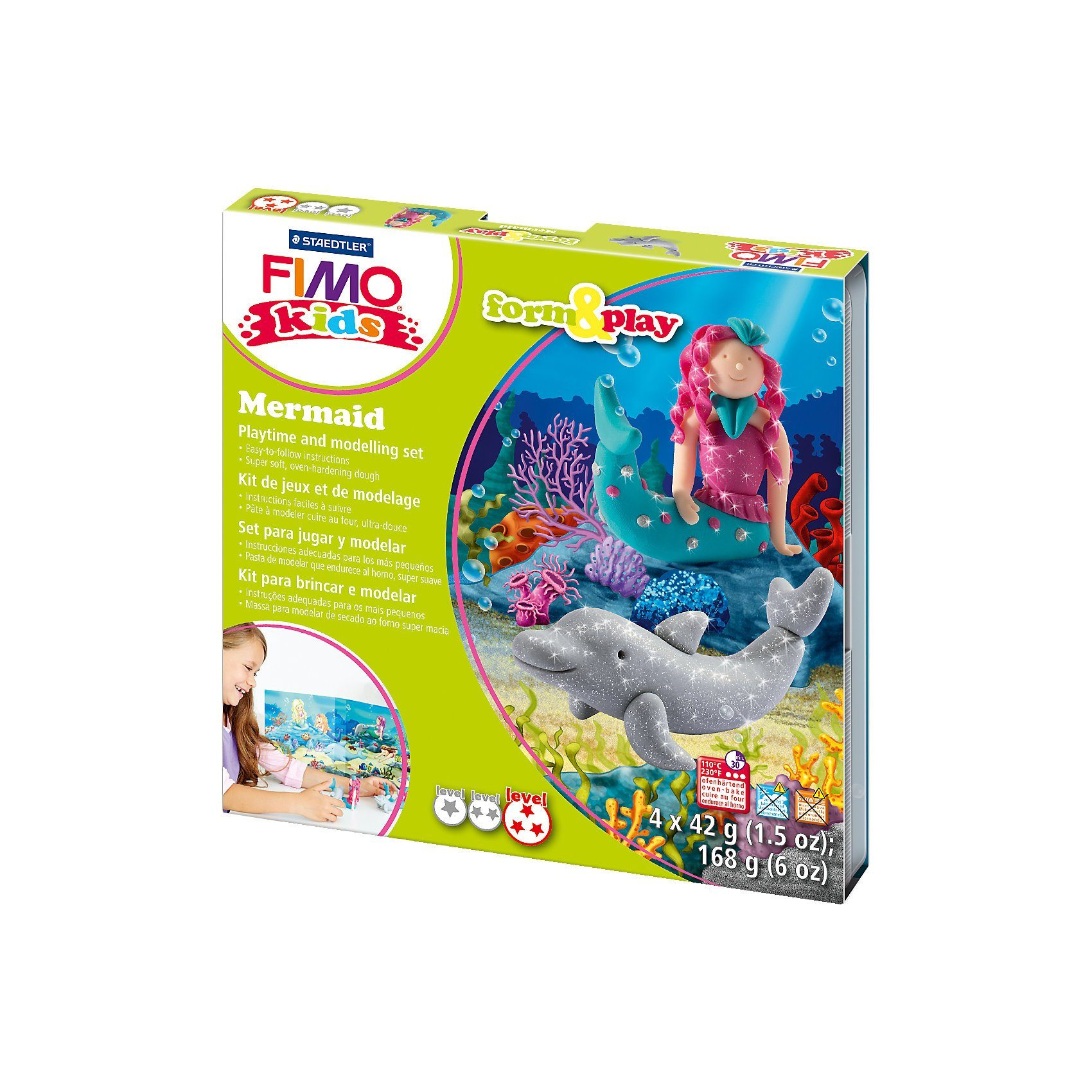 FIMO kids Form & Play Mermaid