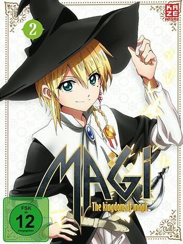 DVD »Magi: The Kingdom of Magic Staffel 2, Box 2 (2...«