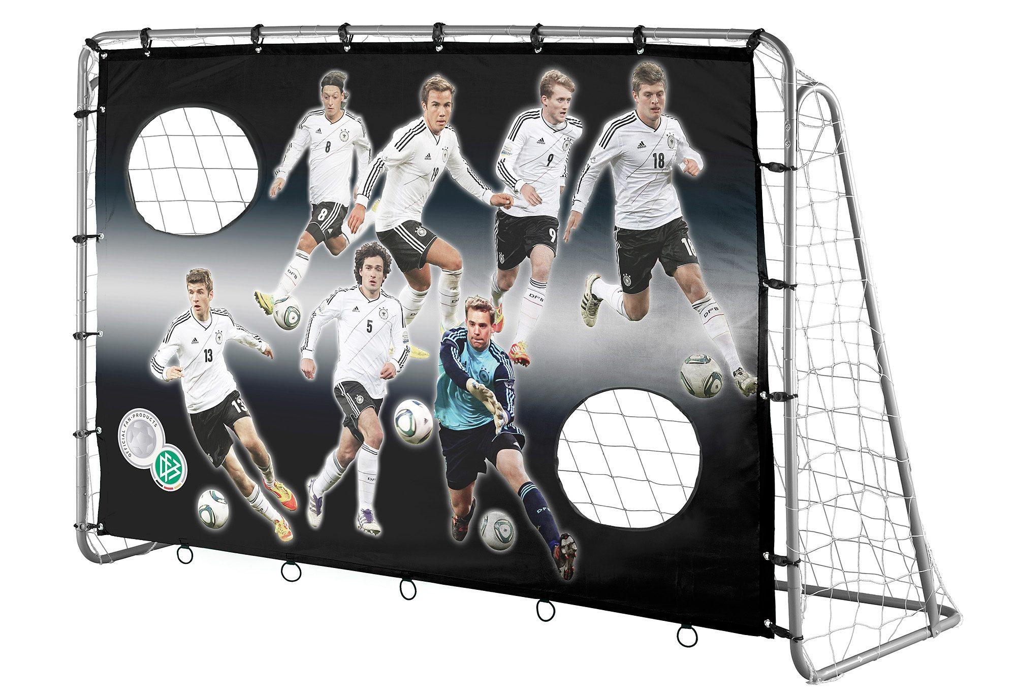 4Uniq DFB Fußballtor mit Torwand, »7 Wilde«