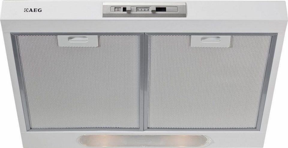 AEG Unterbauhaube COMPETENCE / DU4161-W in Weiß
