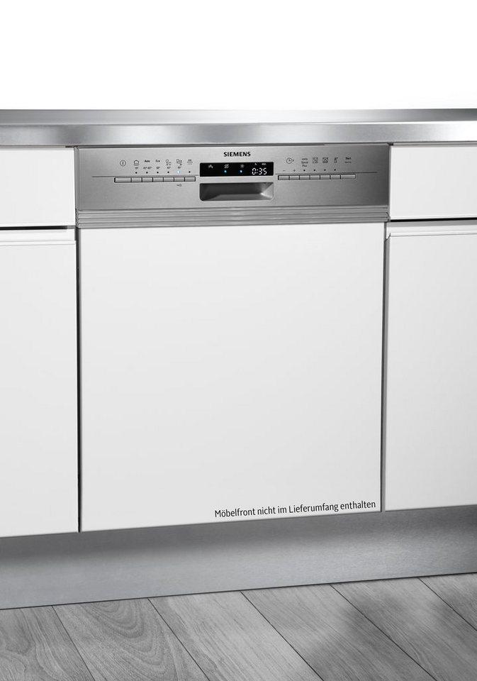 Siemens integrierbarer Einbaugeschirrspüler SN56L500EU, A++, 7,5 Liter, 12 Maßgedecke in Edelstahl