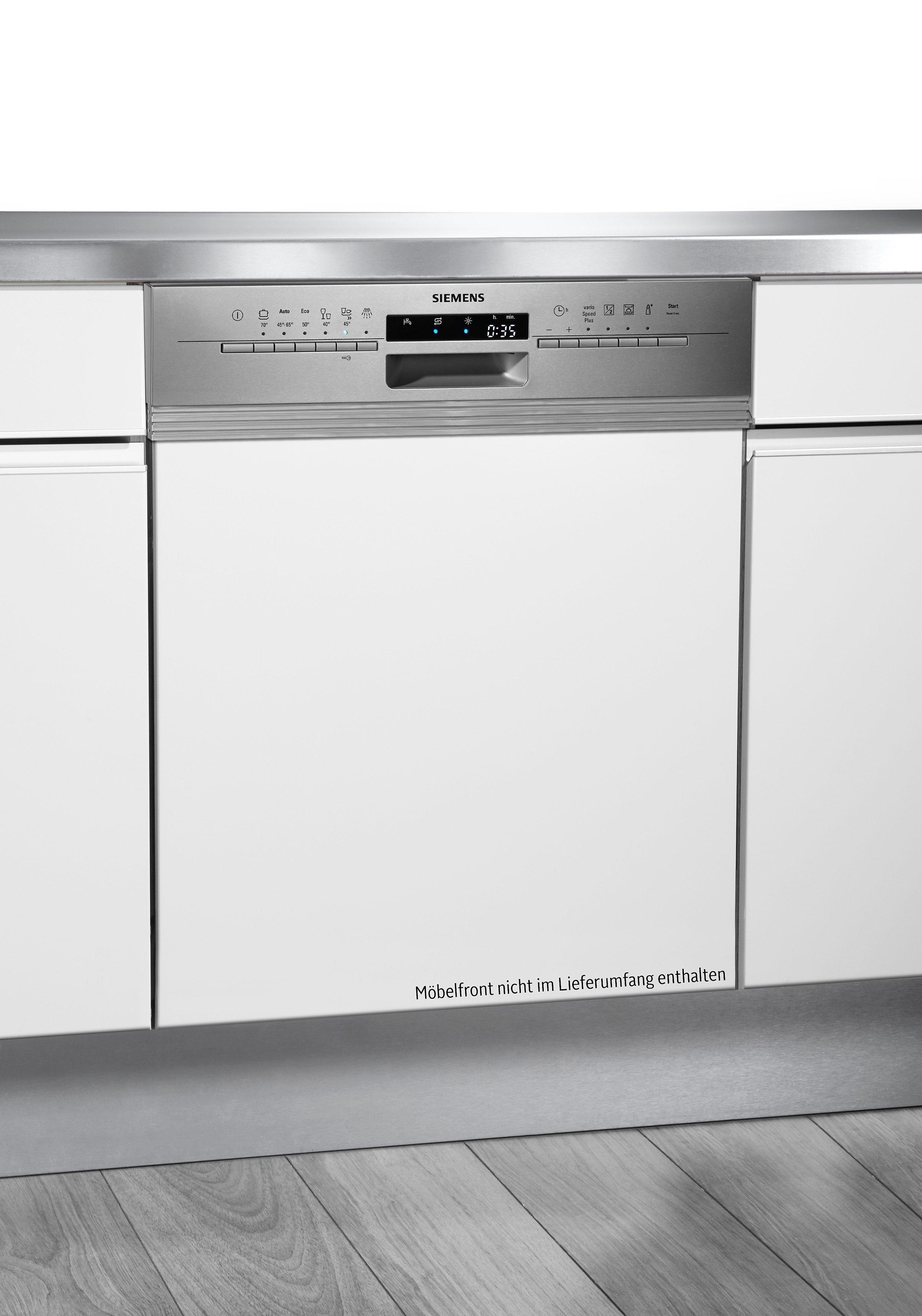 Siemens integrierbarer Einbaugeschirrspüler SN56L500EU, A++, 7,5 Liter, 12 Maßgedecke