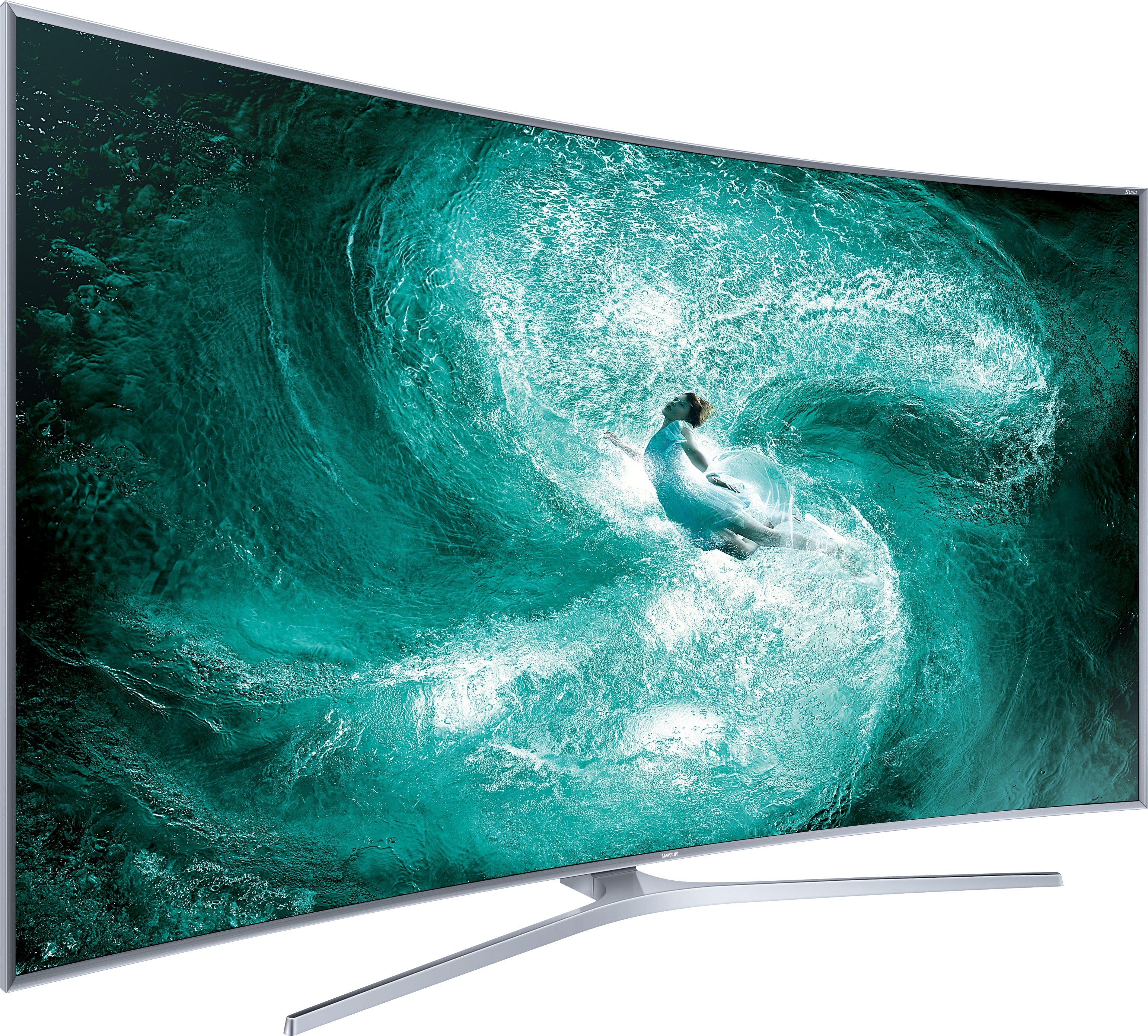 Samsung UE88JS9590QXZG, Curved-LED-Fernseher, 222 cm (88 Zoll), 2160p (SUHD), Smart-TV