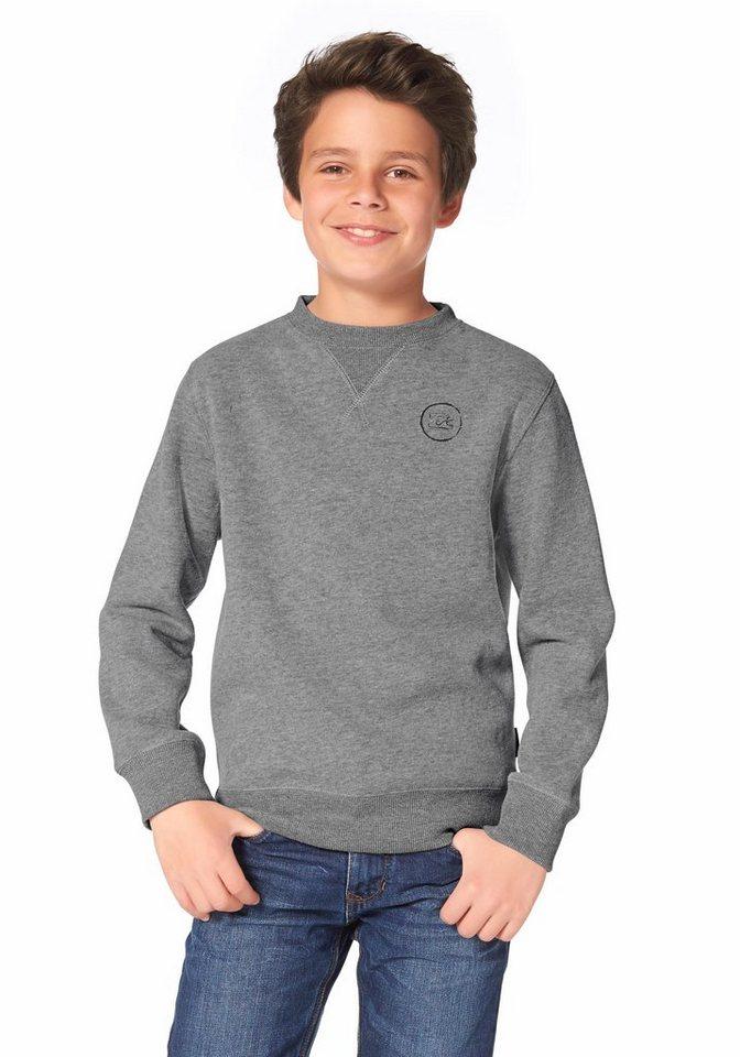 Billabong FREEHAND CR BOYS Sweatshirt in Grau-Meliert