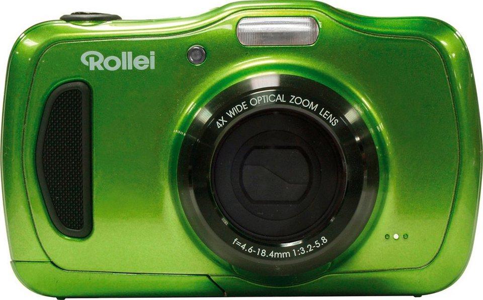 Rollei Sportsline 100 Outdoor Kamera, 20 Megapixel, 4x opt. Zoom, 9,6 cm (2,7 Zoll) Display