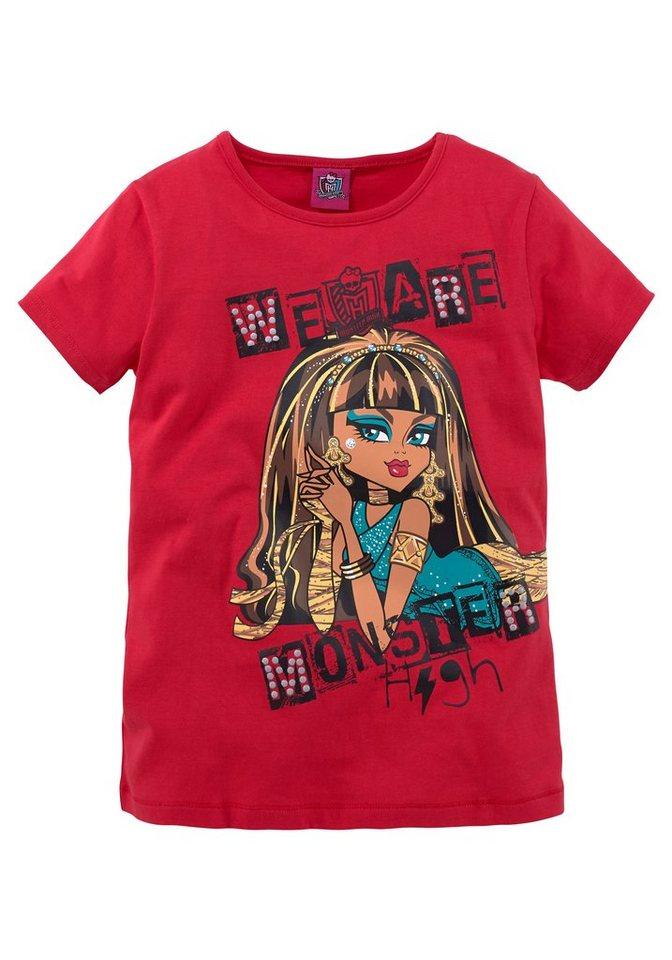 Monster High T-Shirt in rot