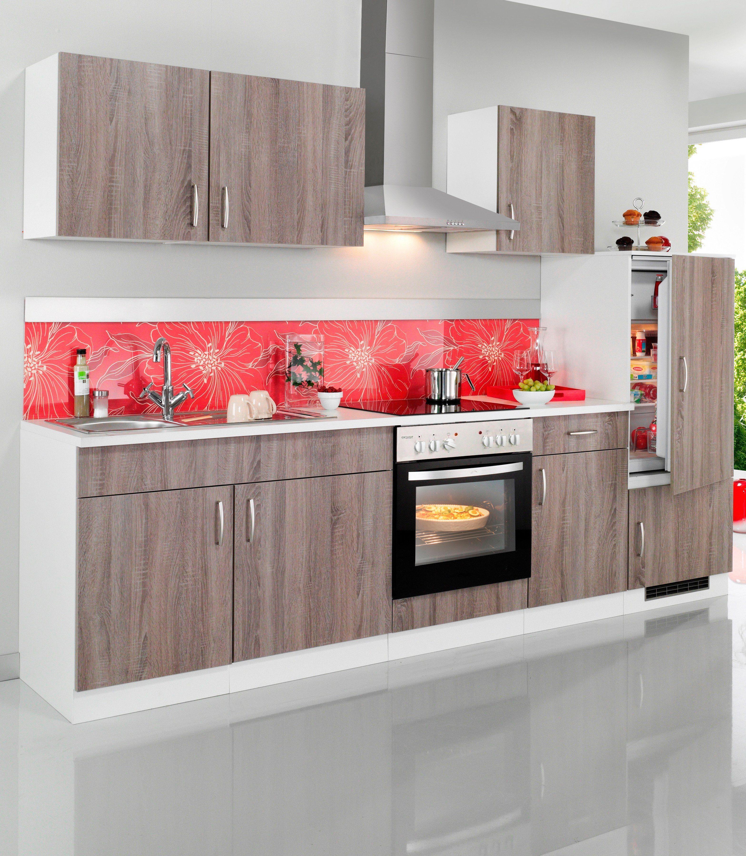 Wiho Küchen Küchenzeile »Porto«, inkl. Elektrogeräte, Breite 270 ...