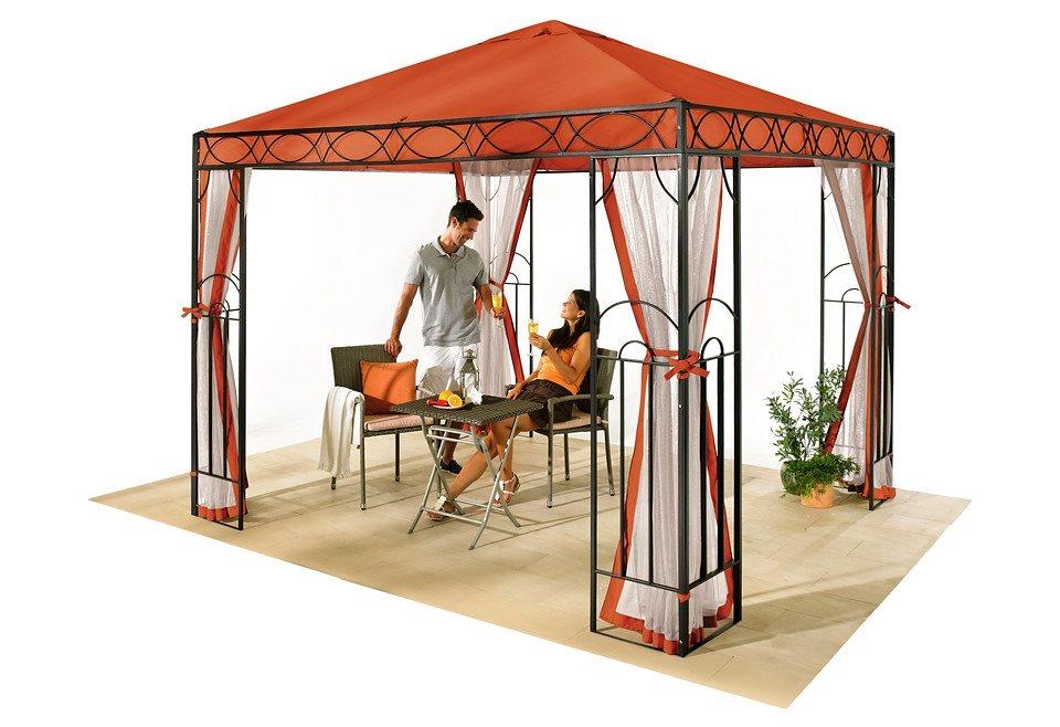 Seitenteile für Pavillon in orange