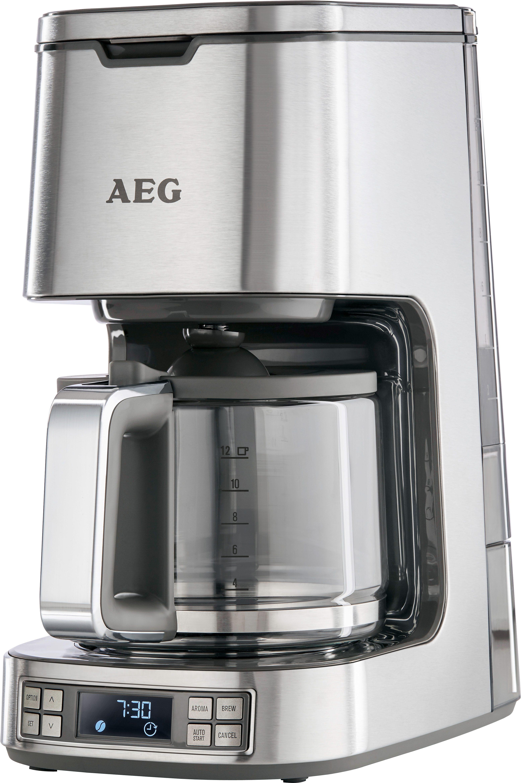 AEG Kaffeemaschine Edelstahl Kaffeemaschine PremiumLine 7Series KF 7800, Stainless Steel