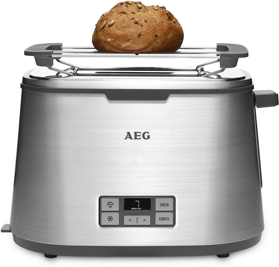 AEG Toaster, Automatic Toaster, »PremiumLine 7Series AT 7800«, 980 Watt in Stainless Steel