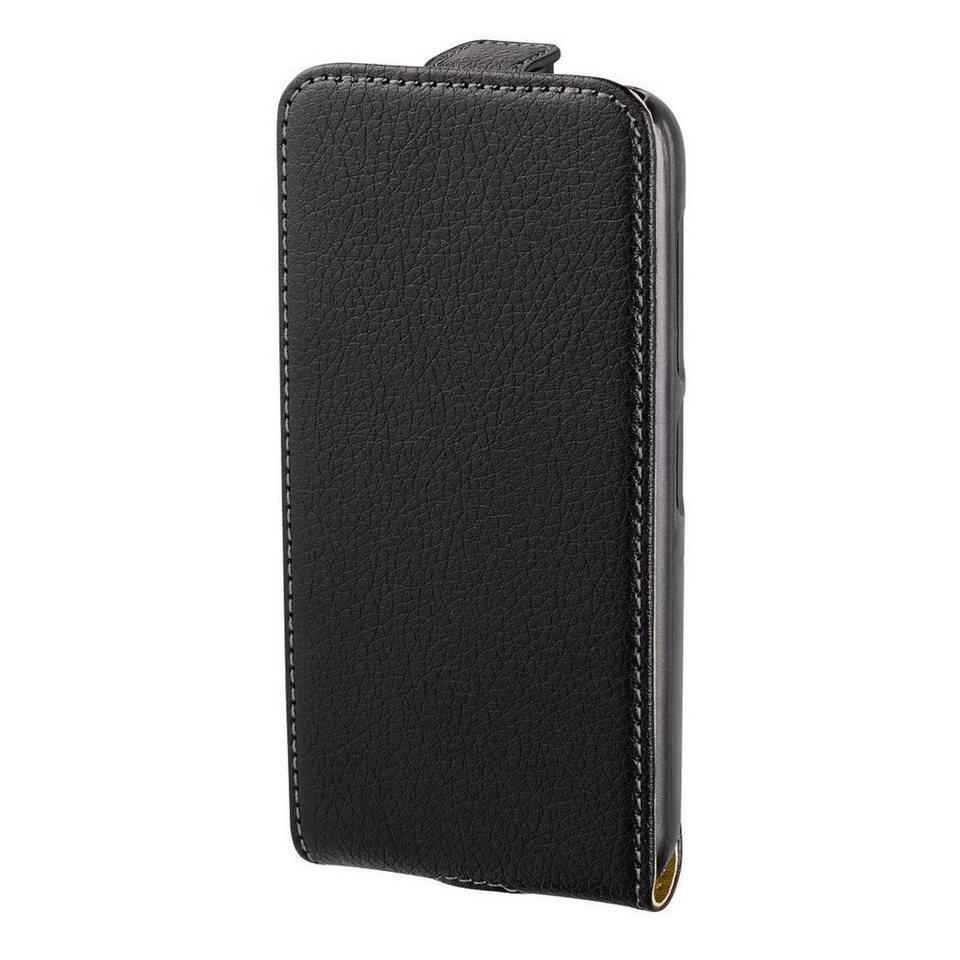 Hama Flap-Tasche Smart Case für Nokia Lumia 530, Schwarz in Schwarz