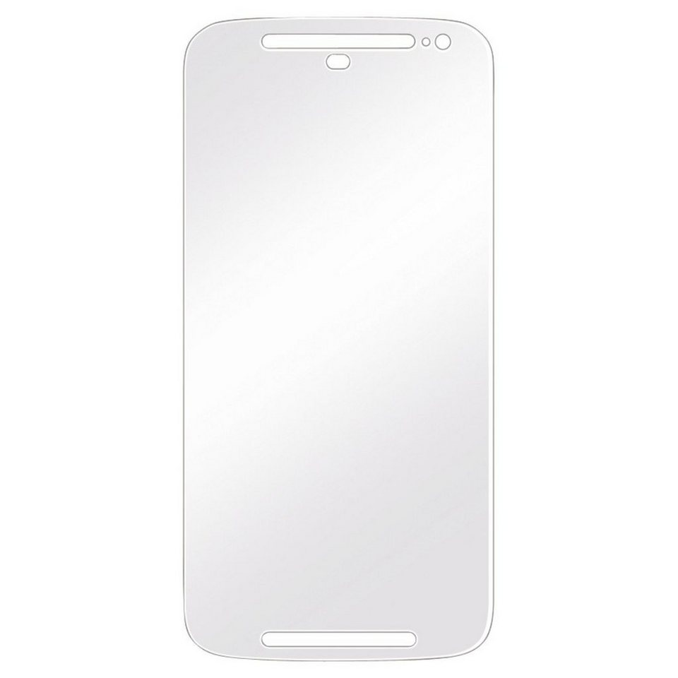 Hama Displayschutzfolie f. Motorola Moto G 2nd Generat., 2er Set »Displayschutz Schutzfolie« in transparent