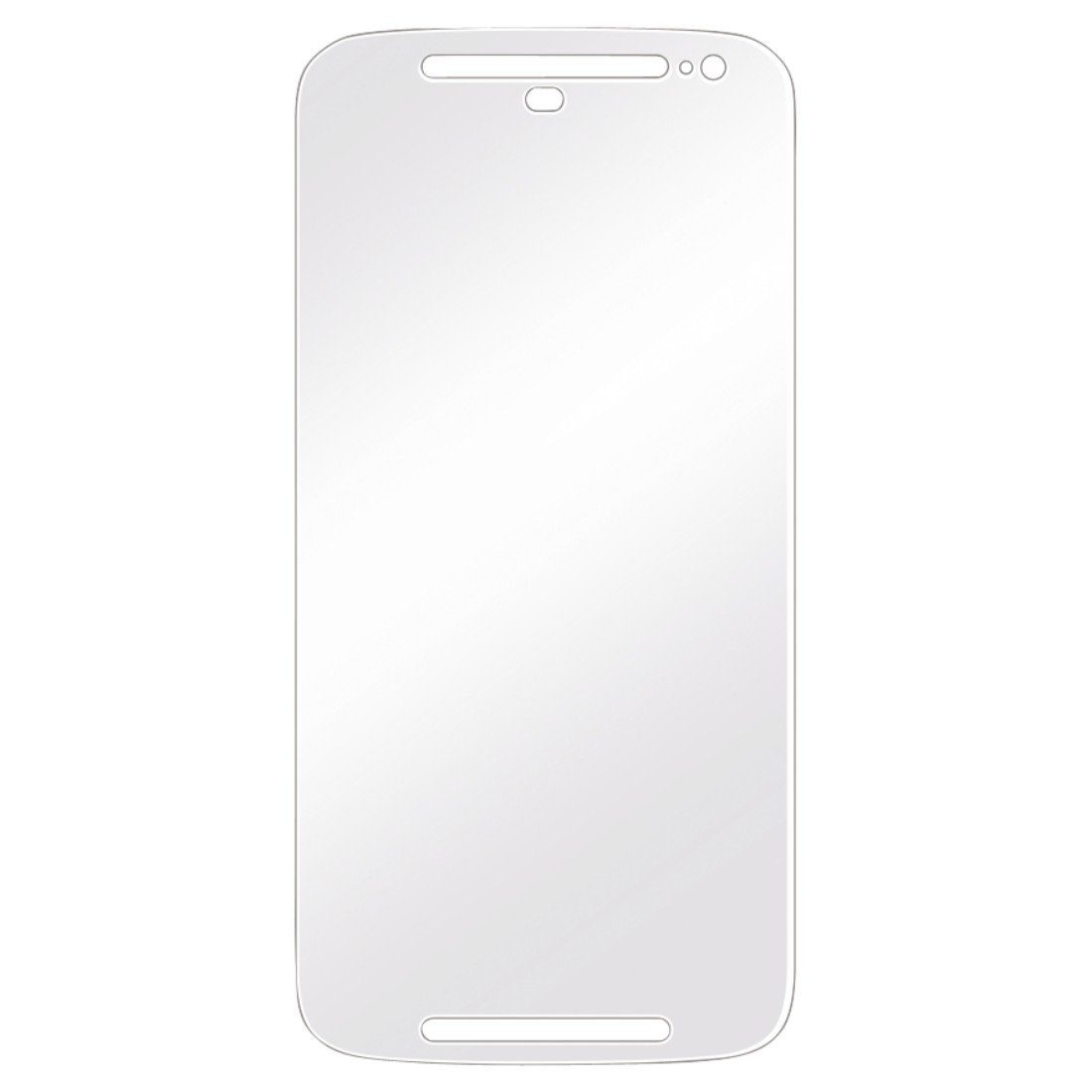 Hama Displayschutzfolie f. Motorola Moto G 2nd Generat., 2er Set »Displayschutz Schutzfolie«