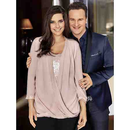 2-in-1-Bluse
