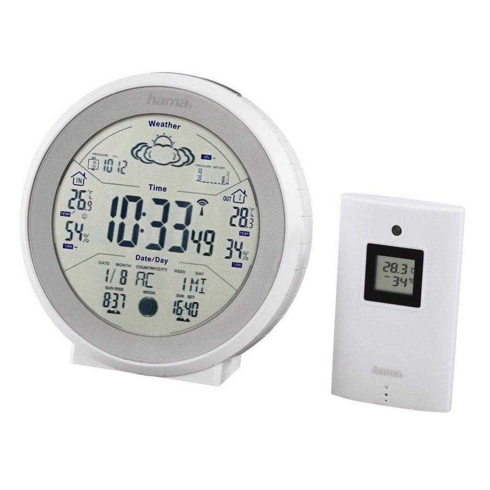 Hama Wetterstation EWS-830, Weiß in Weiß
