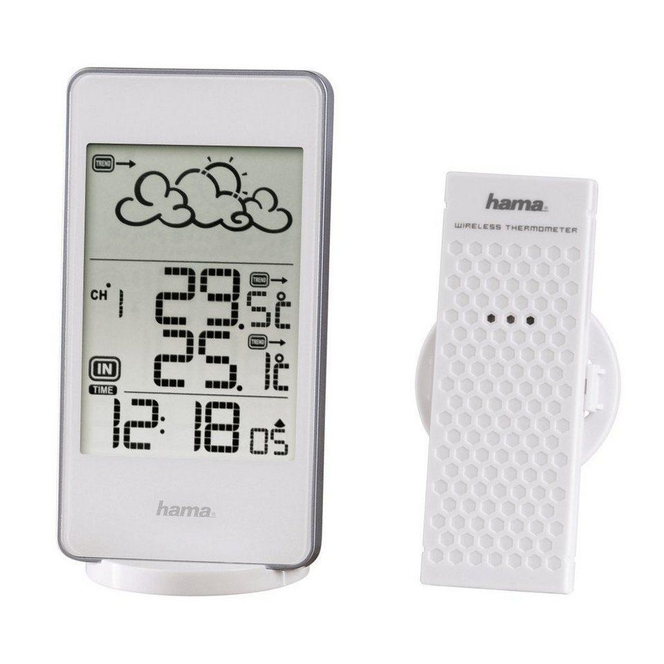Hama Wetterstation EWS-850, Weiß in Weiß