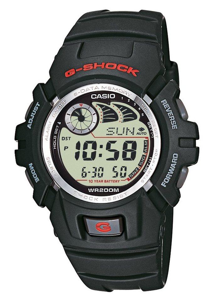 Casio G-Shock Chronograph »G-2900F-1VER« in schwarz