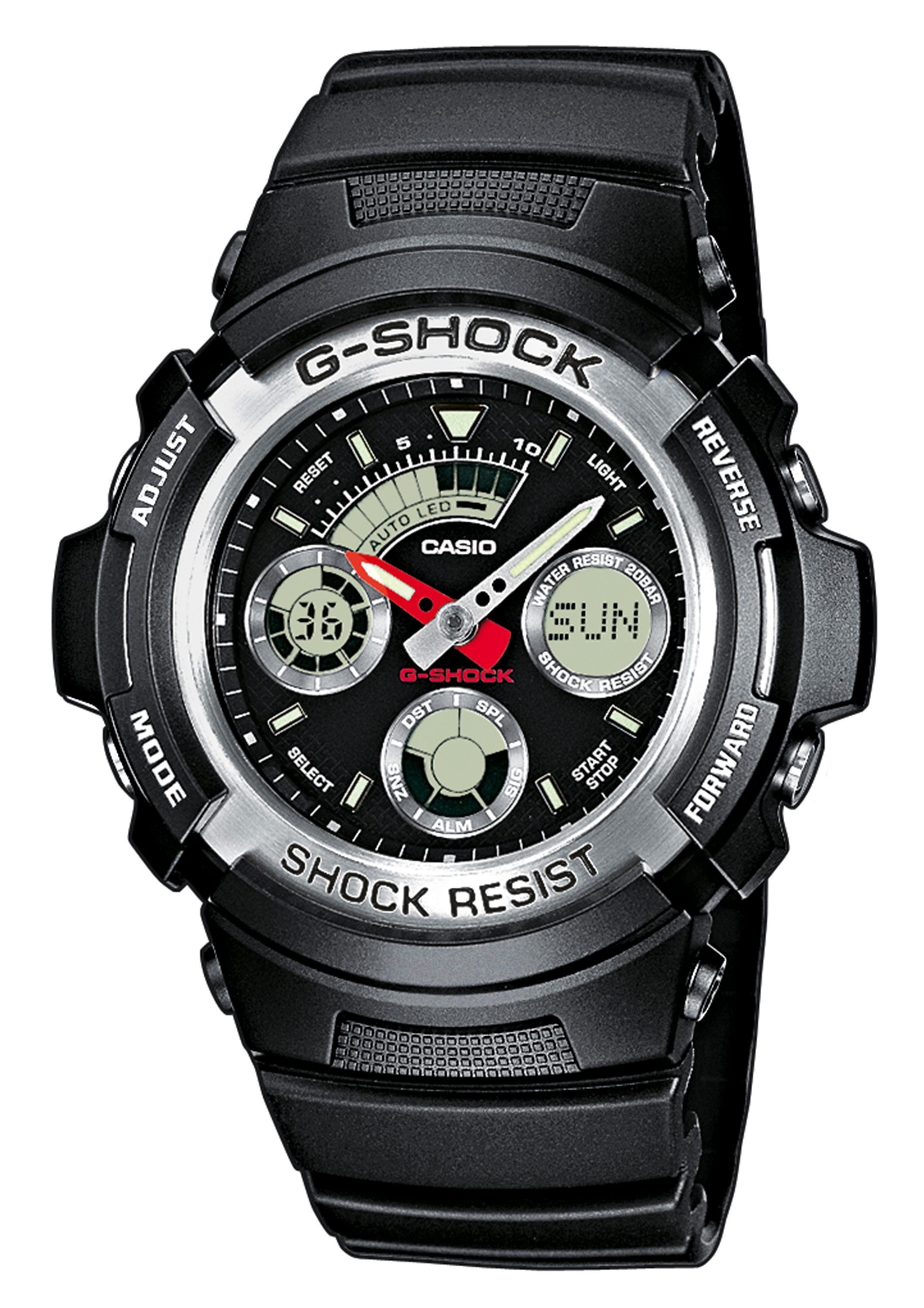 CASIO G-SHOCK Chronograph, »AW-590-1AER«