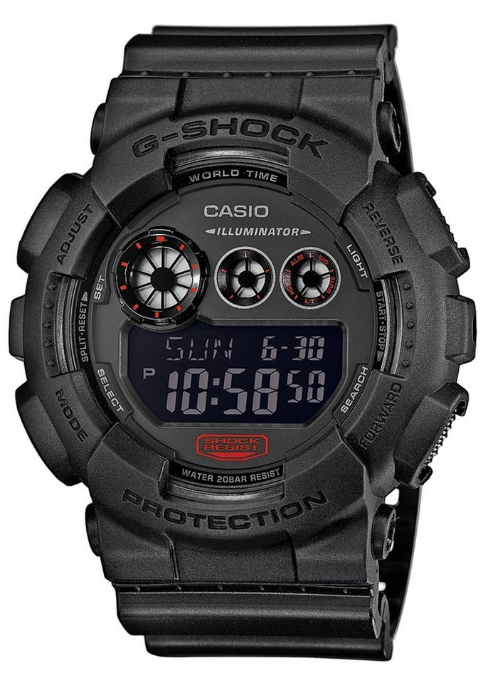 CASIO G-SHOCK Chronograph, »GD-120MB-1ER« in schwarz