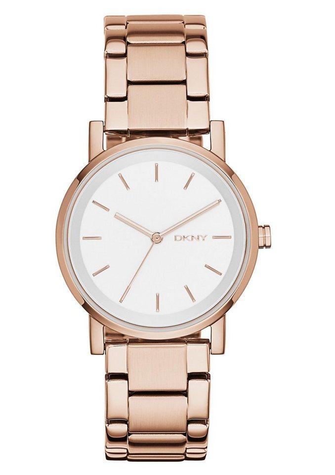 DKNY Quarzuhr »SOHO, NY2344« | Uhren > Quarzuhren | Goldfarben | DKNY