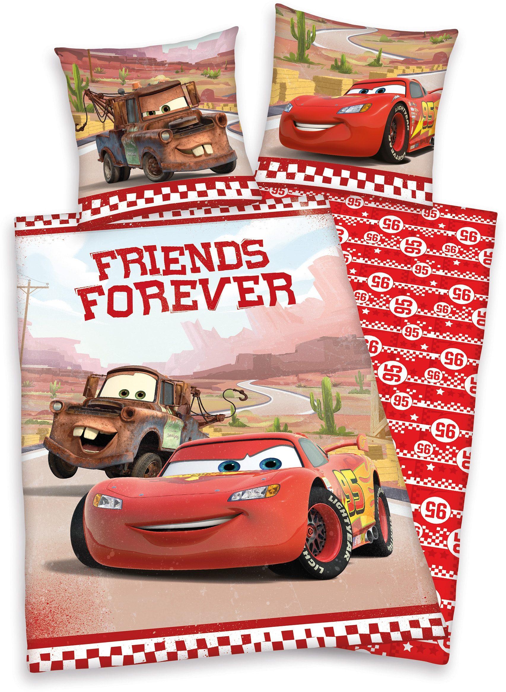 Bettwäsche, Disney, »Cars«, Mc Queen und Freunde