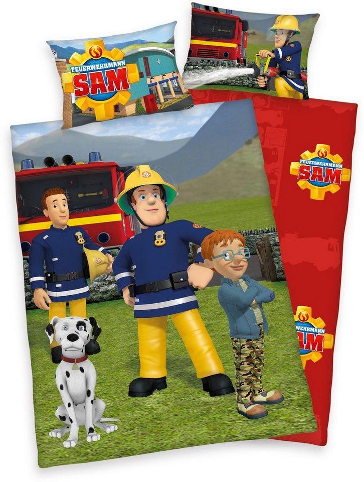 Bettwäsche »Feuerwehrmann Sam« in multi