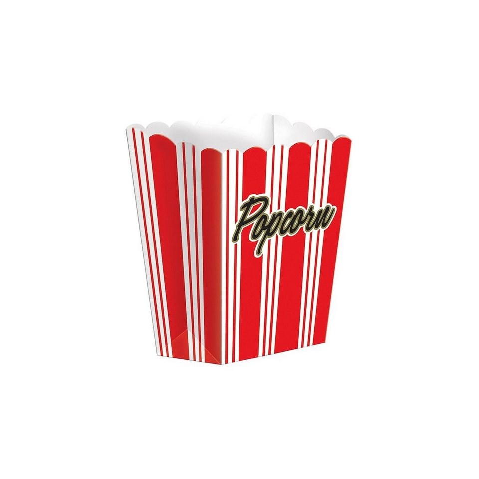 Amscan Popcorn Box, 8 Stück