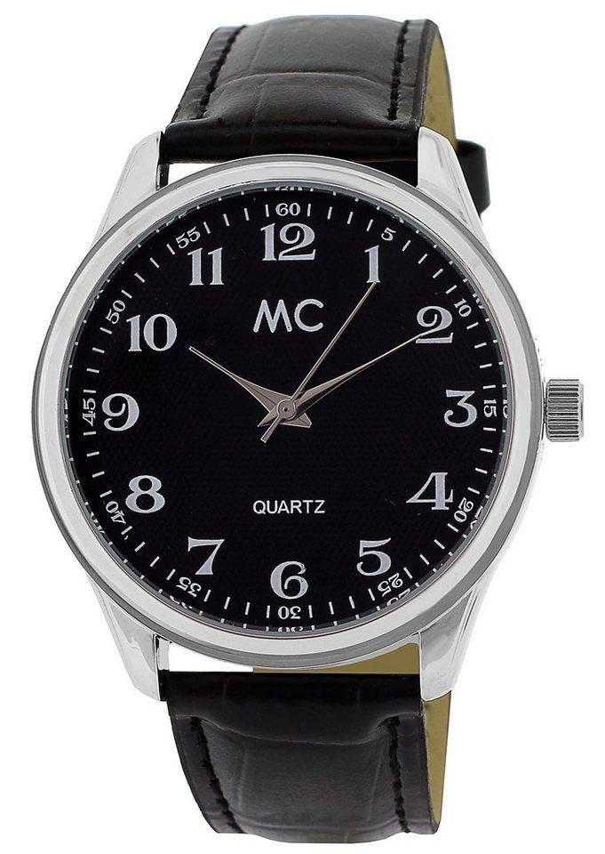 """MC, Armbanduhr, """"27657"""" in schwarz"""