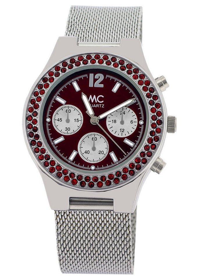 "MC, Armbanduhr, ""27549"" in silberfarben"