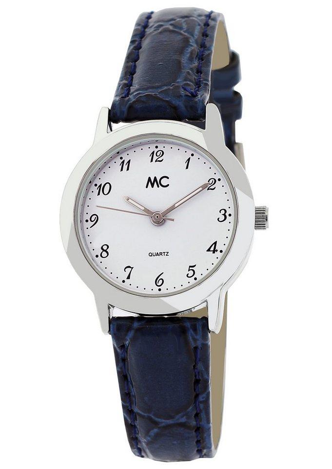 "MC, Armbanduhr, ""51245"" in blau"