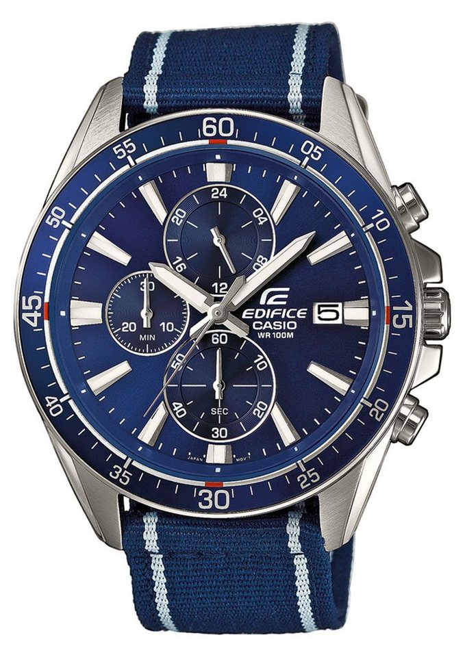 "Casio Edifice, Chronograph, ""EFR-546C-2AVUEF"" in blau"