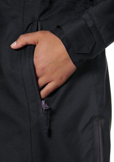 Veste Fonctionnelle Polarino, Fentes Latérales Avec Fermeture À Glissière