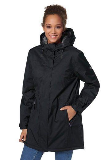Polarino Function Jacket, Lateral Slots With Zipper