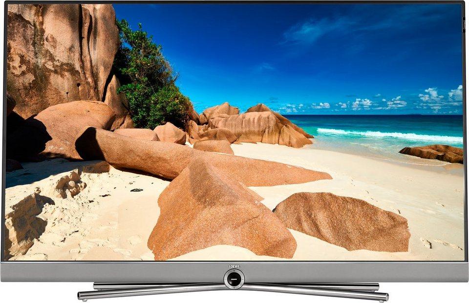 Loewe Connect 40, LED Fernseher, 102 cm (40 Zoll), 2160p (4K Ultra HD) in silberfarben