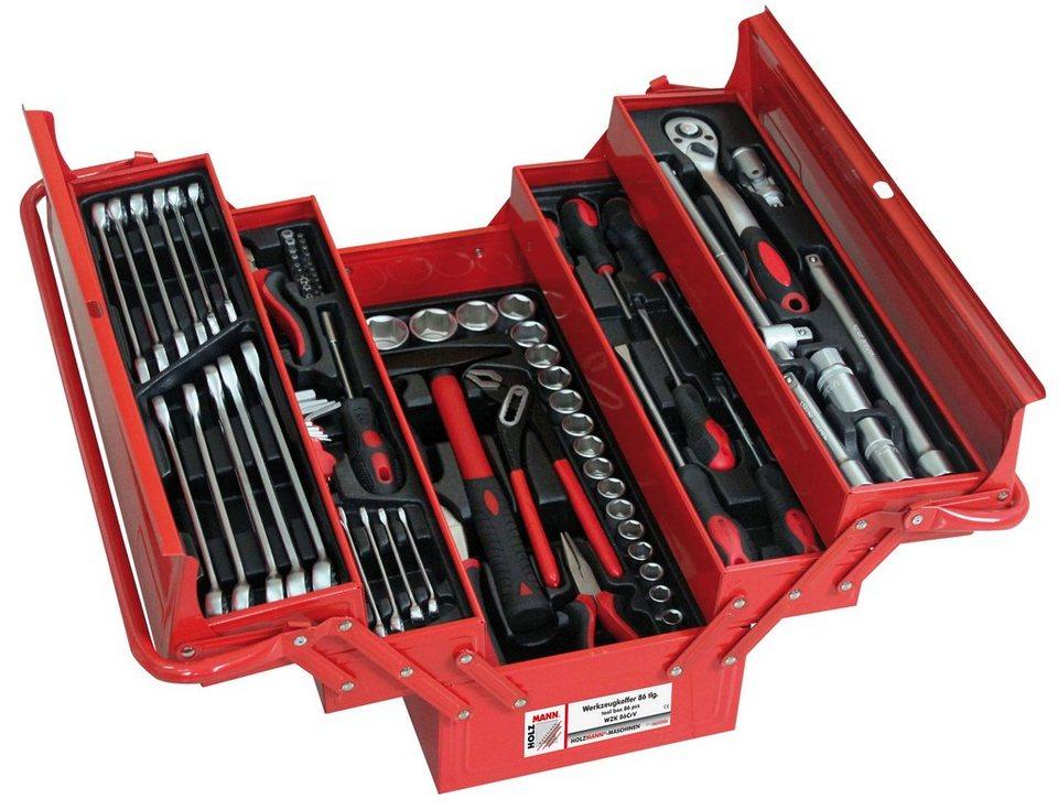 Werkzeugkoffer »WZK 86CrV« in rot