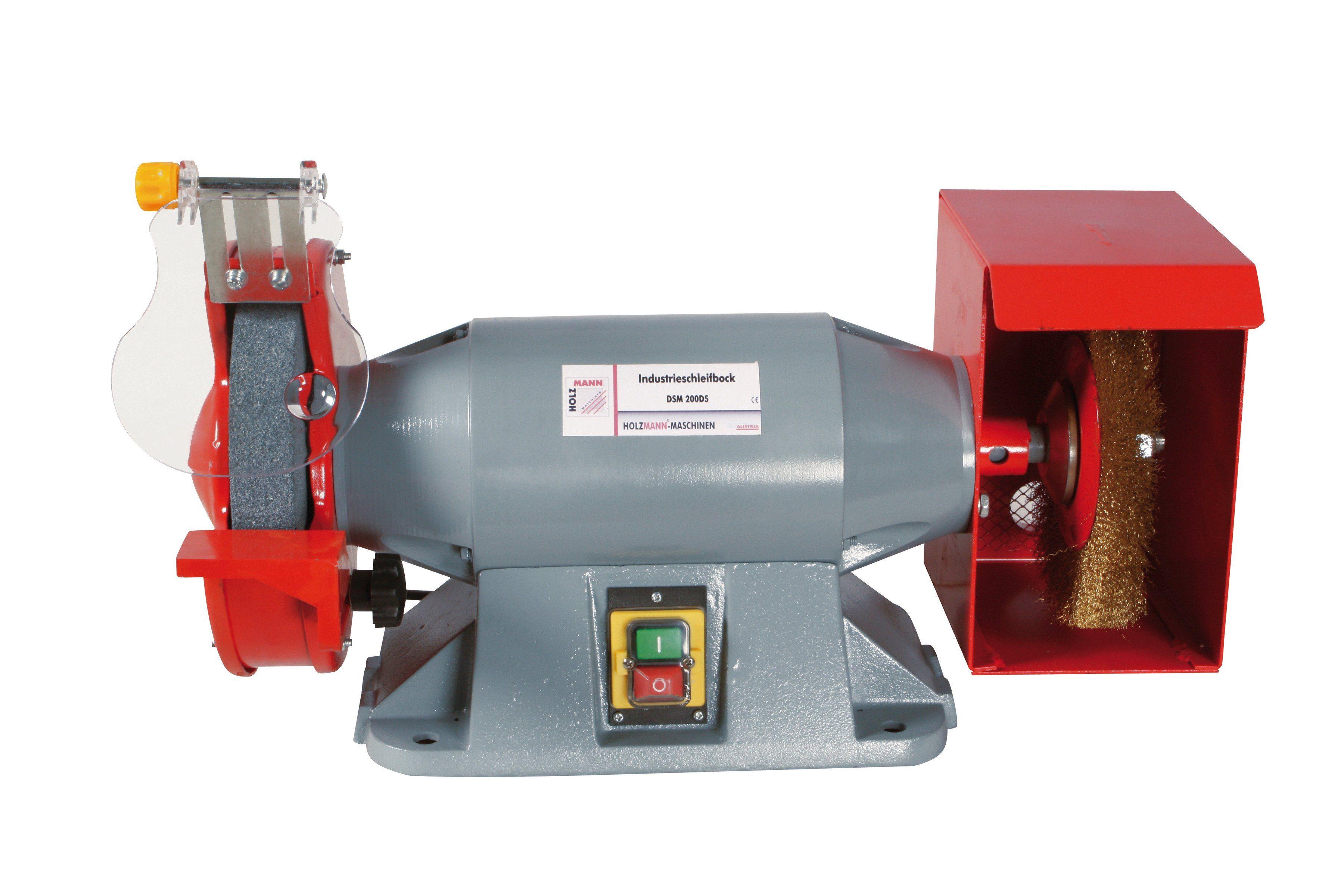 Holzmann-Maschinen Doppelschleifbock »DSM 200DS«