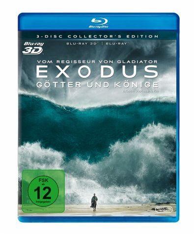 Blu-ray »Exodus - Götter und Könige 3D«