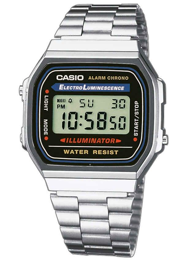 CASIO VINTAGE Chronograph »A168WA-1YES«