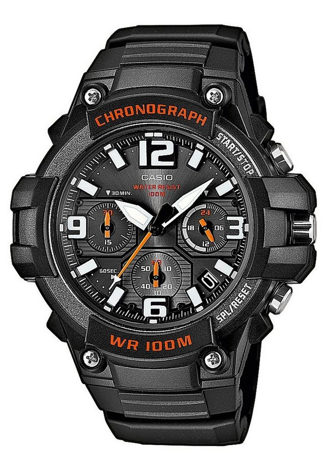 Casio Collection Chronograph »MCW-100H-1AVEF« in schwarz