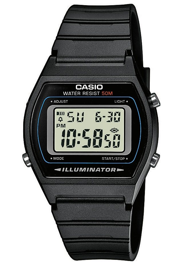 Casio Collection Chronograph »W-202-1AVEF« in schwarz