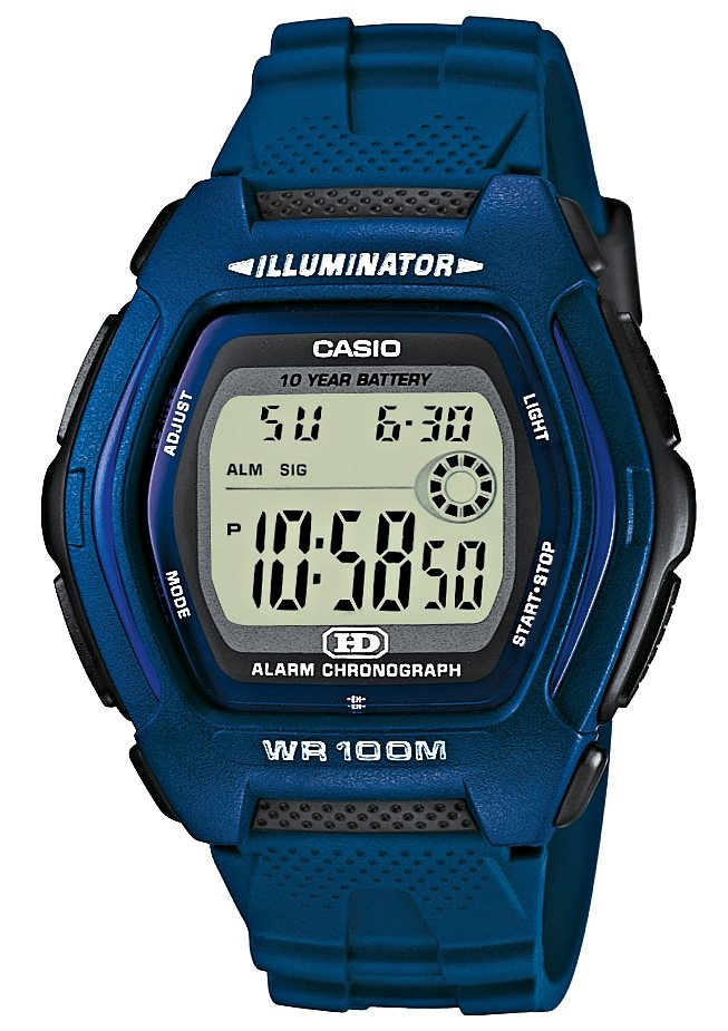 Casio Collection Chronograph »HDD-600C-2AVES« in blau