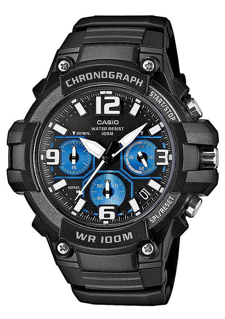 "Casio Collection, Chronograph, ""MCW-100H-1A2VEF"""